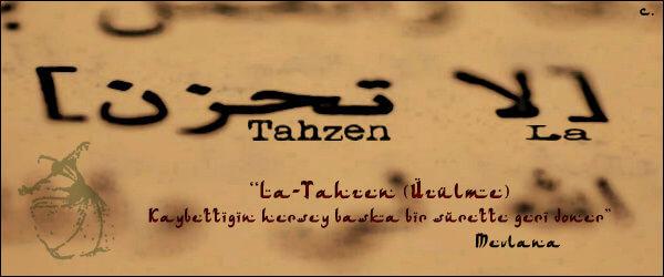 La Tahzen Innallahe Meana