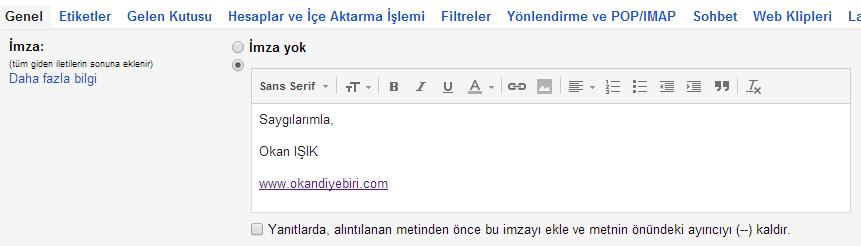gmail-imza-ekleme