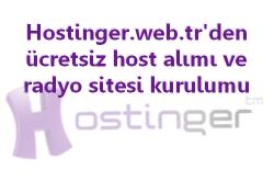 Ücretsiz hosting ve site kurulumu