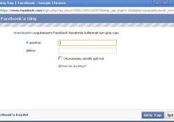 WordPress facebook ile giriş