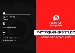 Photograpy Kartvizit Tasarımı PSD