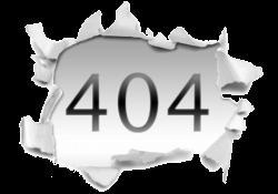Komik 404 Hata sayfaları