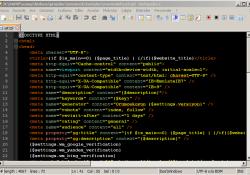 Tpl Dosyalarını Notepad ++ ile renkli açmak