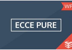 Ecce Pure Temasında Değişiklikler