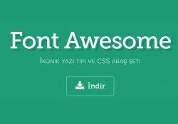 Web Sitelerinde Font Awesome Kullanımı
