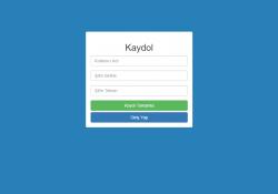 Javascript ile form kontrolü